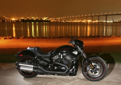 Harley Davidson In The City
