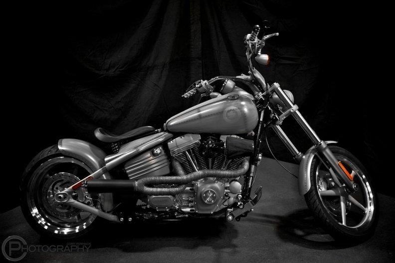 Harley Davidson Custom Bike Download HD Wallpapers And