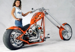 CUSTOM 300 CHOPPER