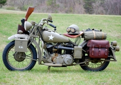 World War II Motorcycle