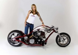 Costom Chopper Christa
