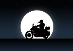 Yamaha Virago 535 Night