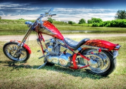 bikers bike hdr