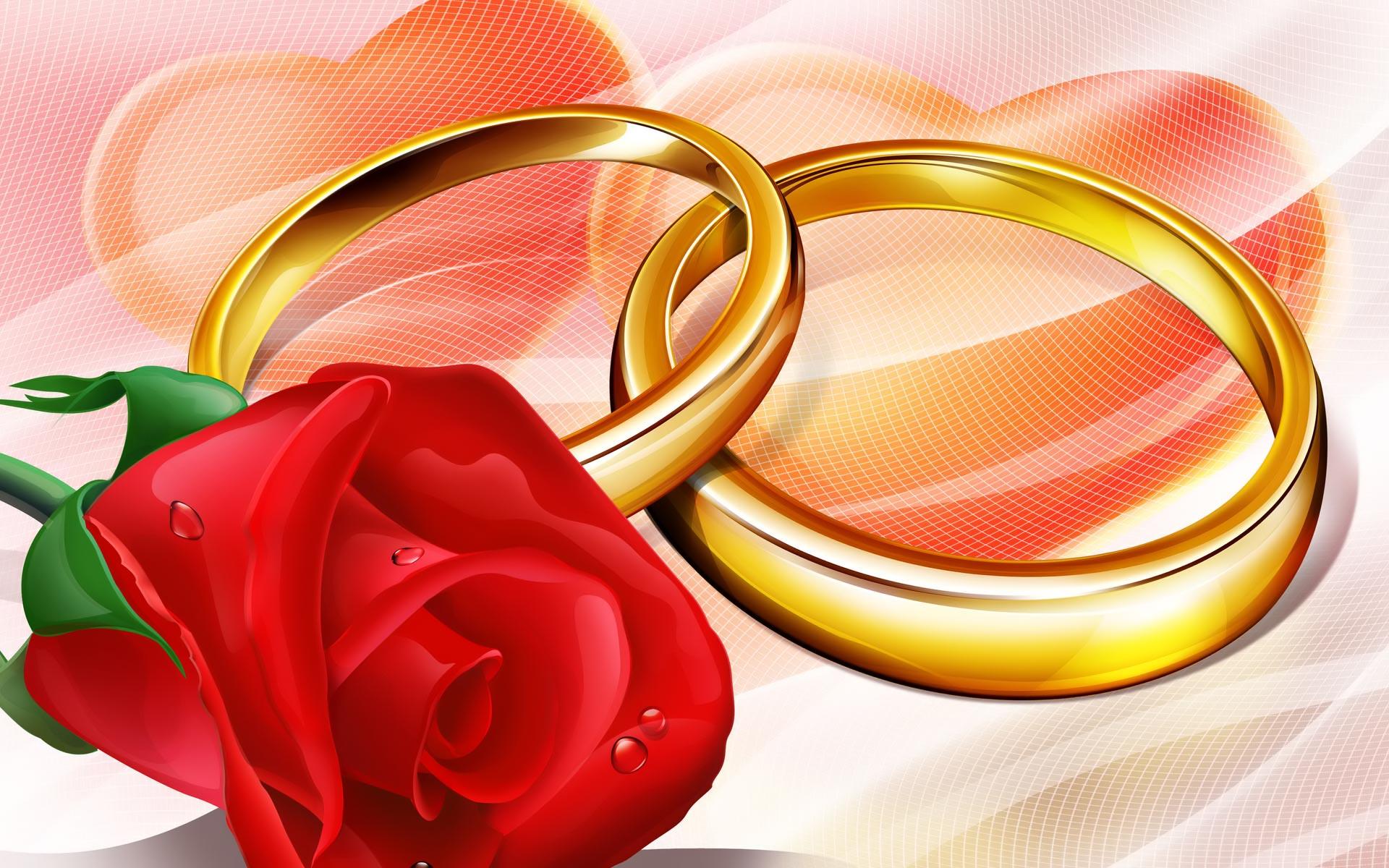 Заставки к свадьбами