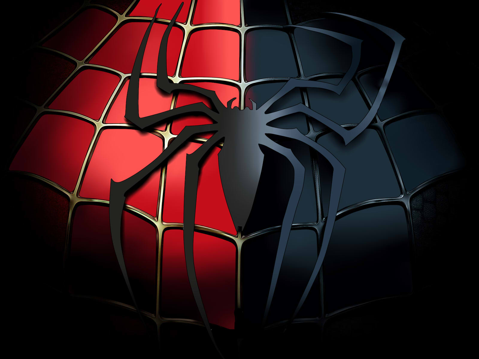 Black spiderman symbol - photo#14