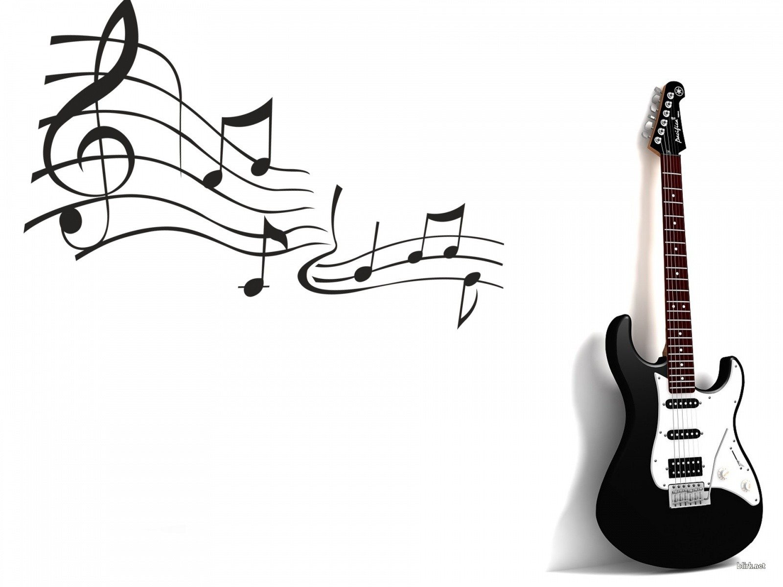 Black And White Guitar Download Hd Wallpapers And Free Images